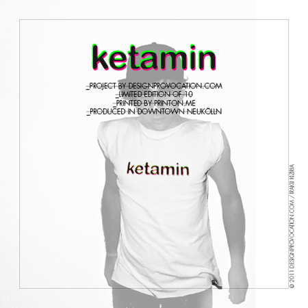 KETAMIN t-shirt